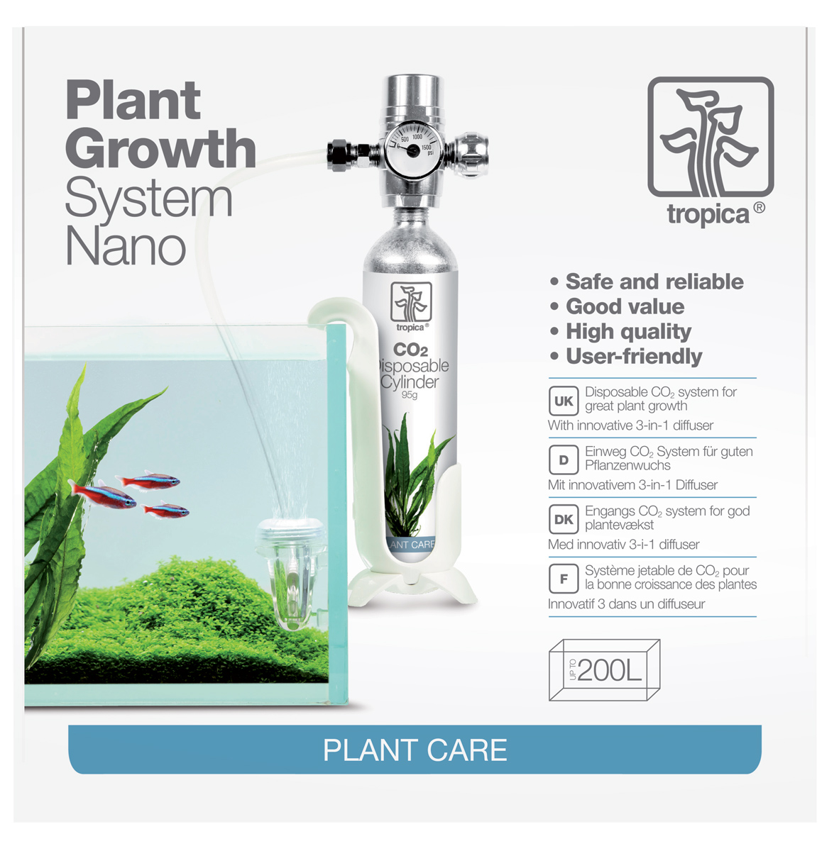 Tropica Plant Growth System Nano Set