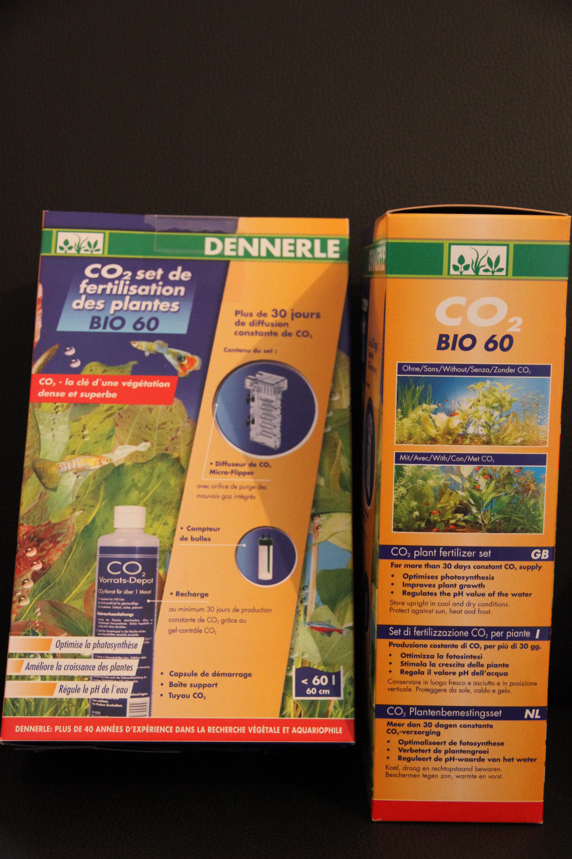 CO2 Plant Fertilizer Set BIO 60