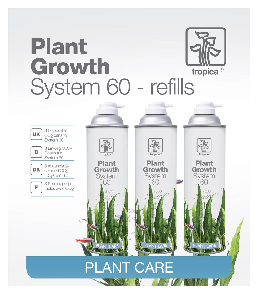 Tropica Plant Growth System 60 refill x3